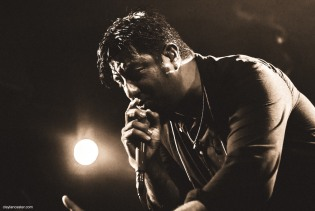 Chino Moreno of Crosses ††† (Deftones)